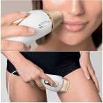 epilateur lumiere pulsee braun-silk-expert-pro-5 : visage et cuisse